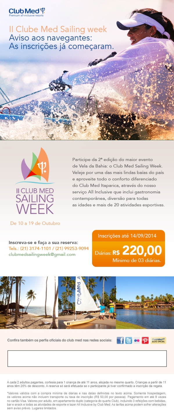 Clube Med Sailing Week