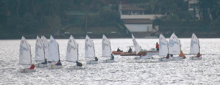 1º Dia de regatas da Taça Porto Seguro