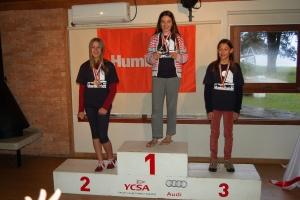 Premiação da categoria feminino