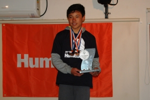 Premiação do campeão da Taça Humboldt