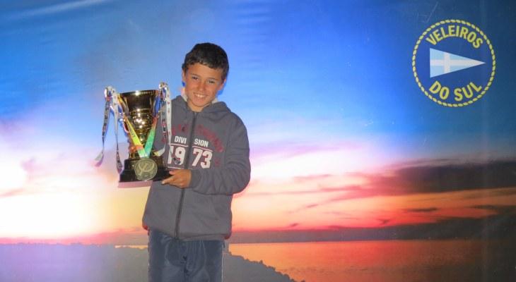Campeão categoria estreantes