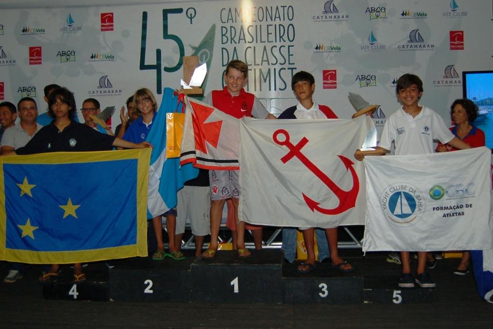 Mathias Reimer (YCSA) - 1º lugar na categoria infantil