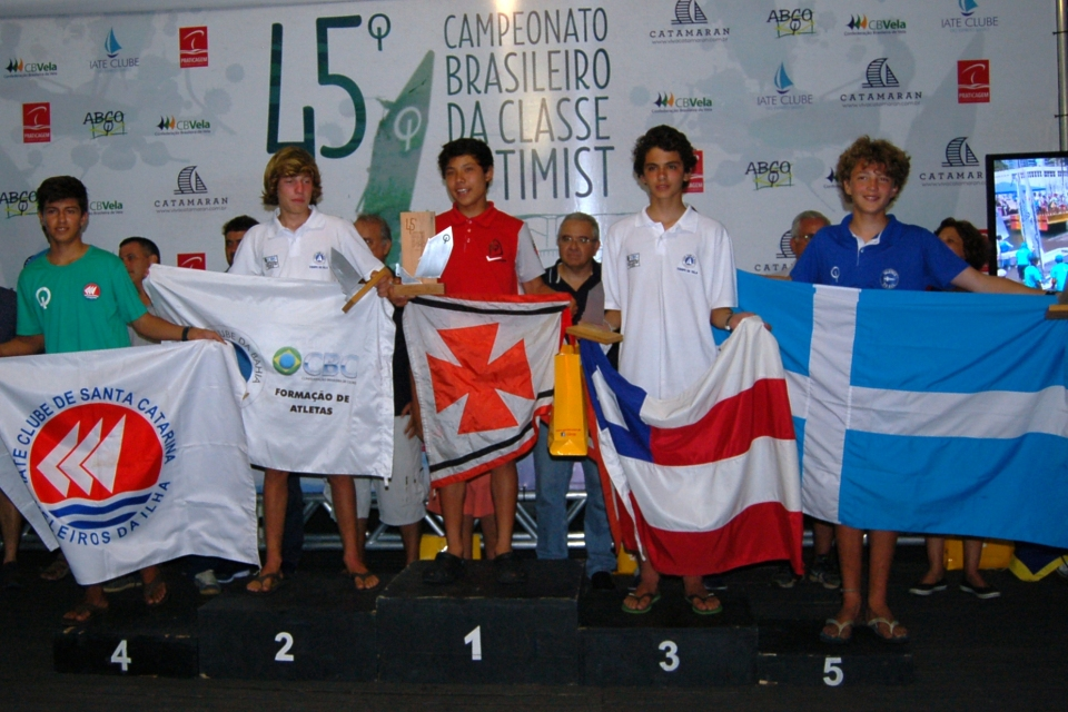 Nicolas Bernal (YCSA) - 1º lugar na categoria juvenil