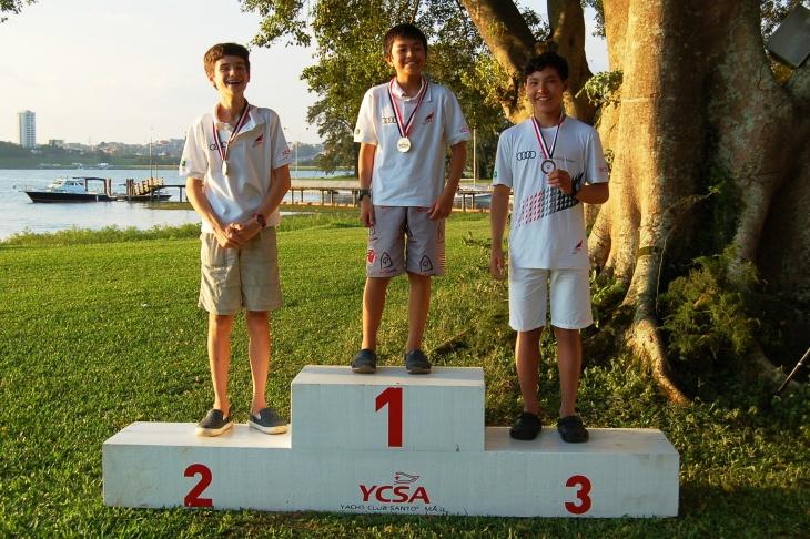 Premiação categoria veterano juvenil