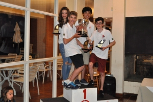 1º - Equipe YCSA 3 (vermelha)